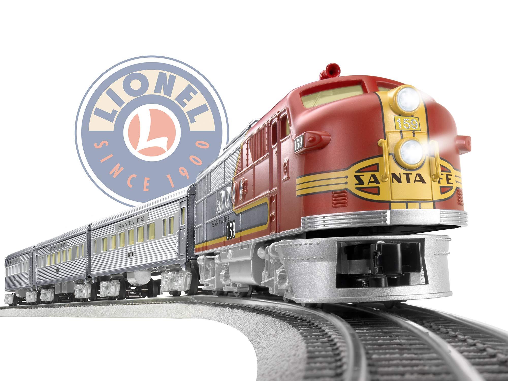 Lionel Santa Fe Super Chief Electric O Gauge Model Train Set w/ Remote and Bluetooth Capability by Lionel (Image #11)
