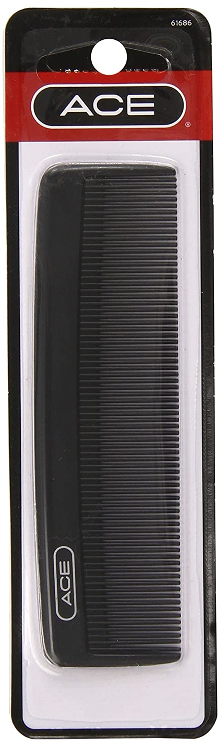 Ace Classic Bobby Pocket and Purse Hair Comb, 5 Inches, 1 Count 61686