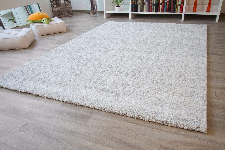 Designer Teppich Modern Nancy in Hellgrau, Größe  240x290 cm