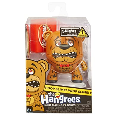 Hangrees The 5 Nights of Farts Collectible Parody Figure with Slime: Toys & Games