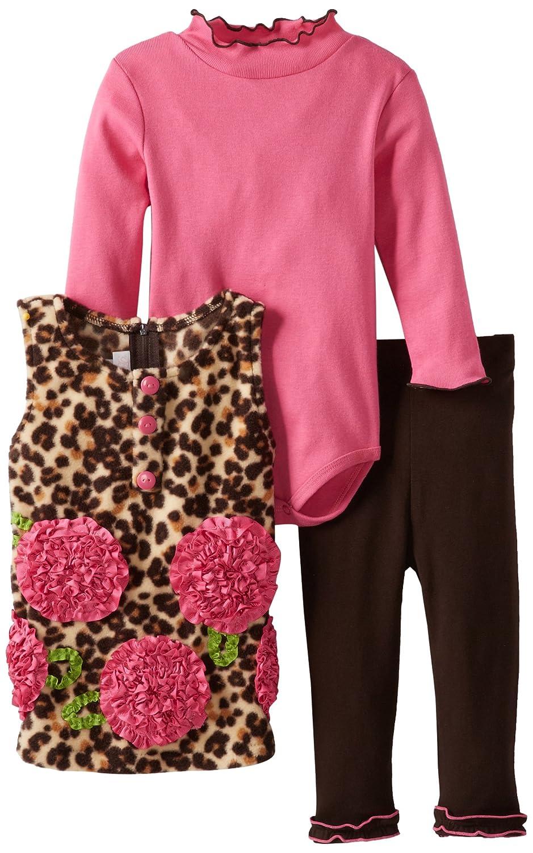楽天 Bonnie Baby Baby B00DM21OEO Girls Baby ' Leopardローズフリースレギンスセット S ブラウン ブラウン B00DM21OEO, Zoff (ゾフ):bfcf37a1 --- a0267596.xsph.ru