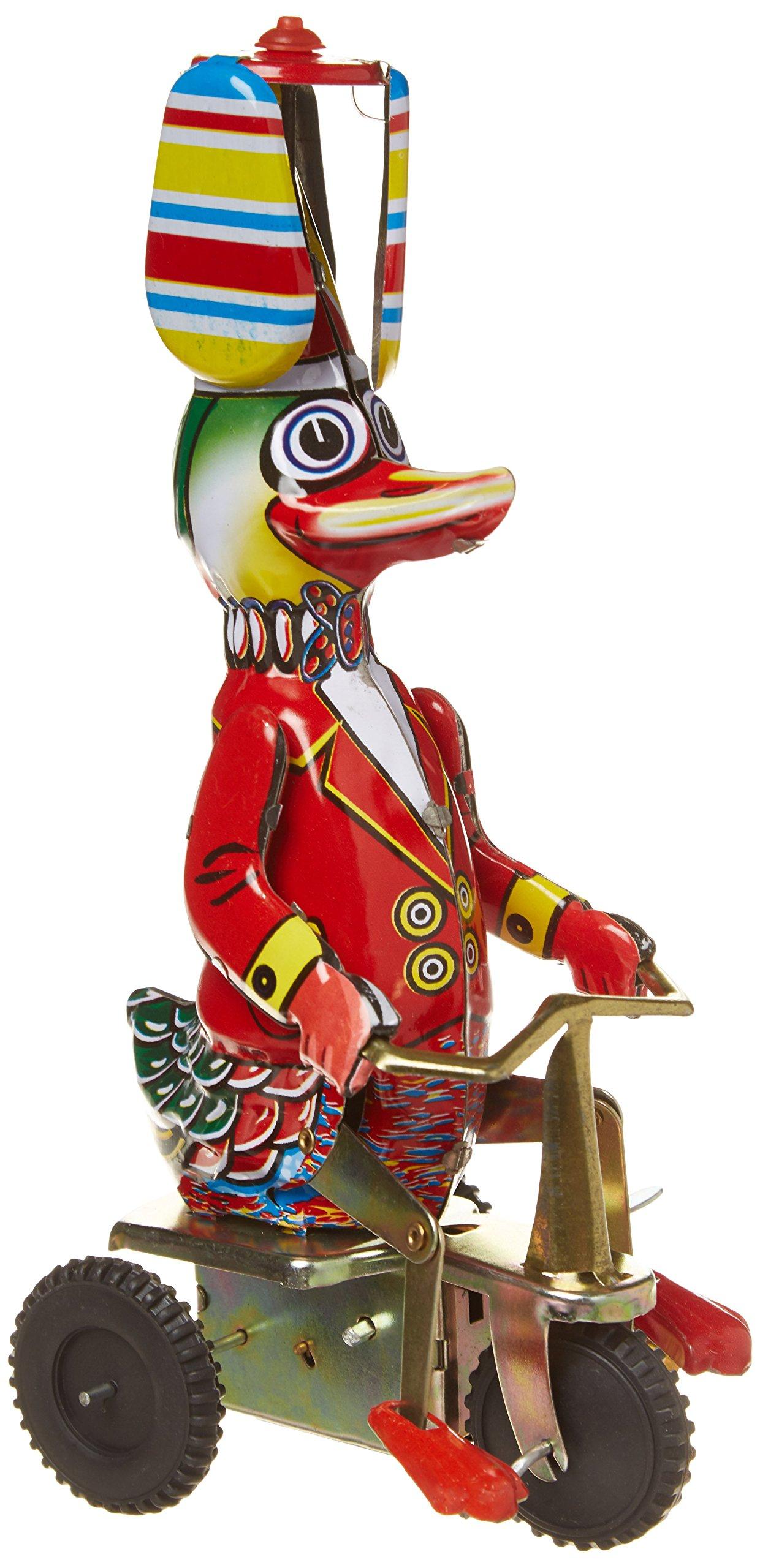 Schylling Wind-Up Duck on Bike