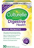 Culturelle® Digestive Health Daily Probiotic/ One Per Day Capsules/ With 100% Naturally Sourced LactobacillusGG –The…