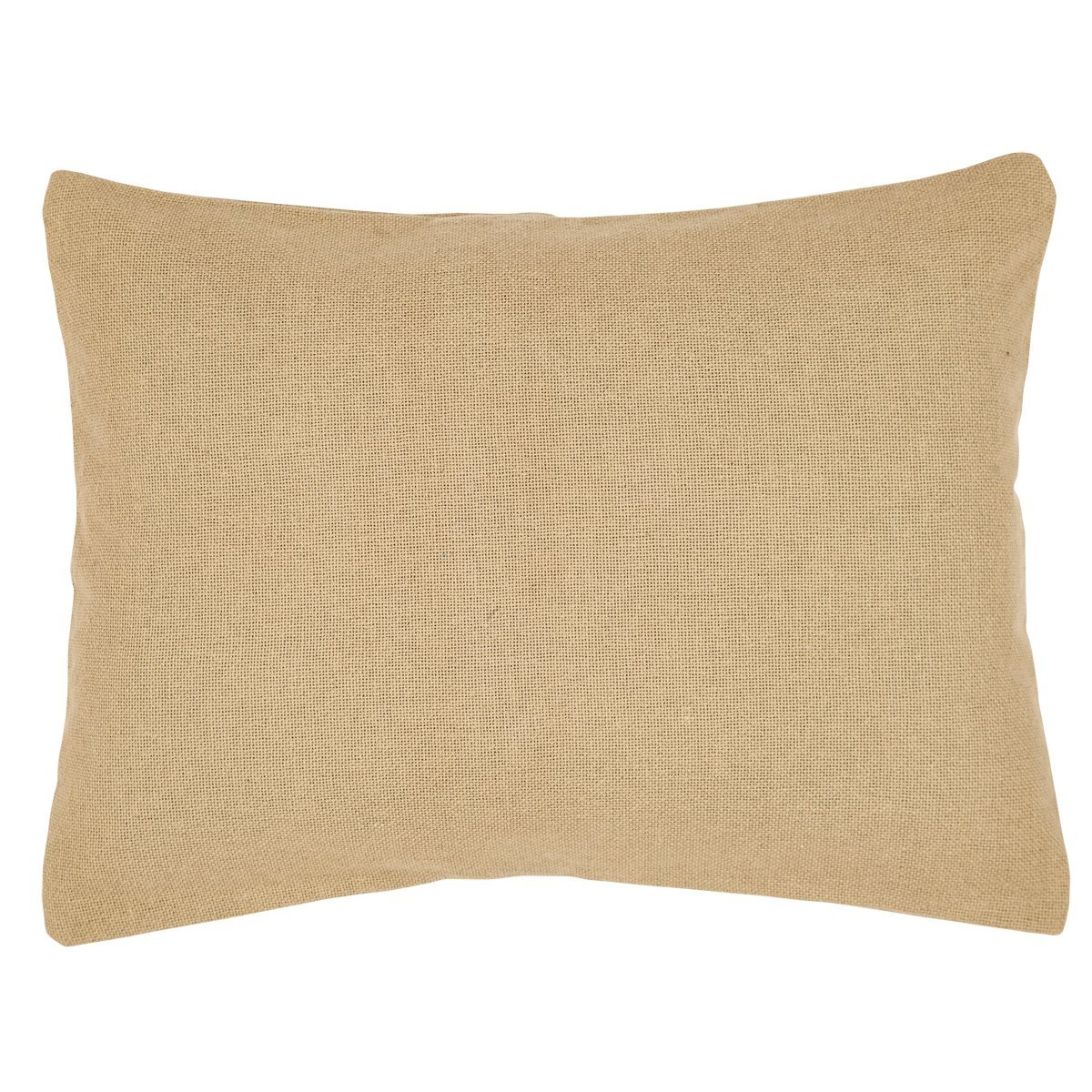 Amazon.com: VHC Brands 17 Burlap Natural Standard Sham 17 x 17 ...