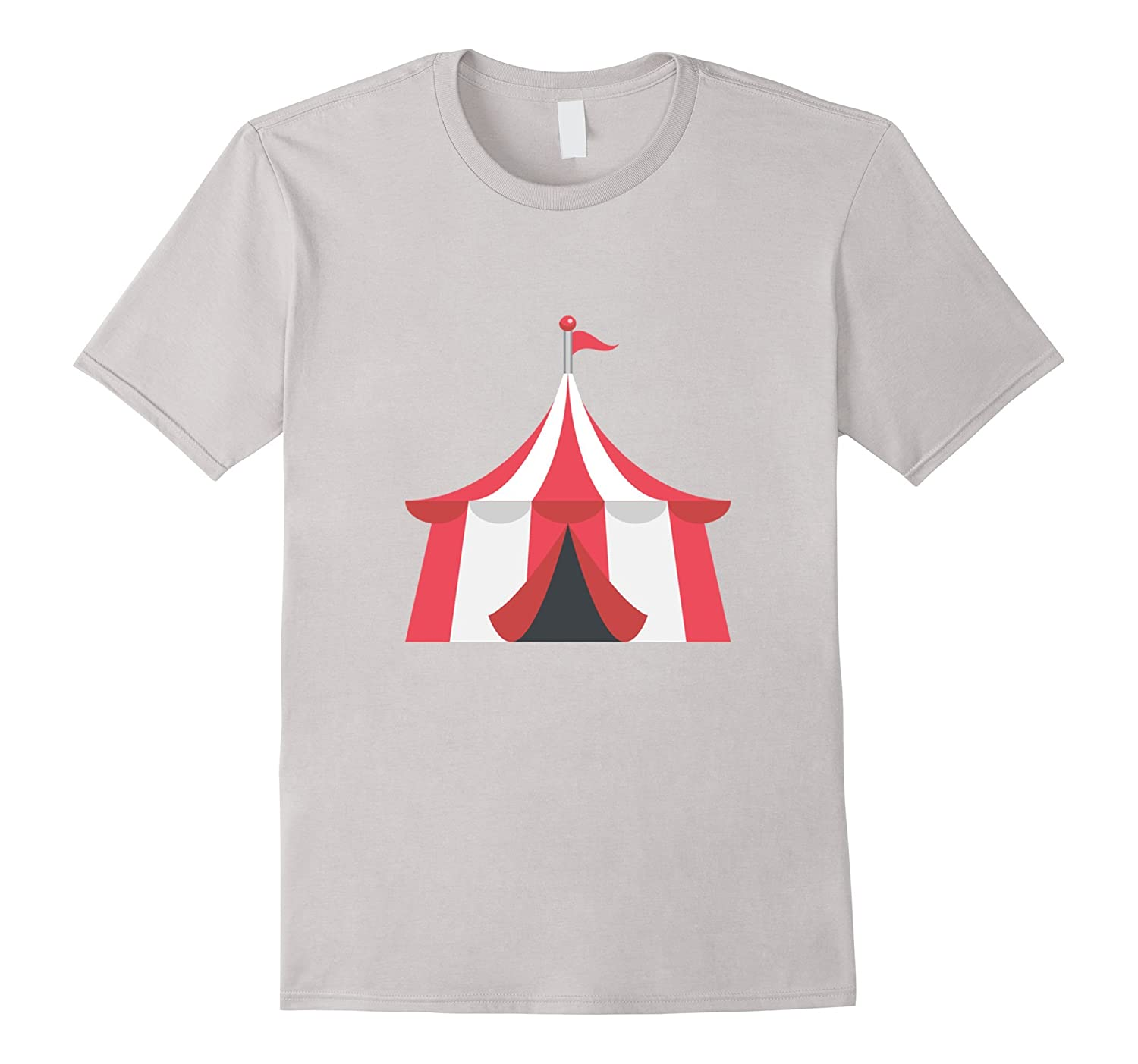 Circus Tent Emoji T Shirt Clown Carnival Birthday Party TH