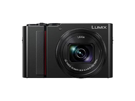 Panasonic Lumix Appareil Photo Compact Expert Zoom Dc Tz200ef K Grand Capteur Type 1 Pouce 20 Mp Zoom Leica 15x F33 64 Viseur Ecran Tactile