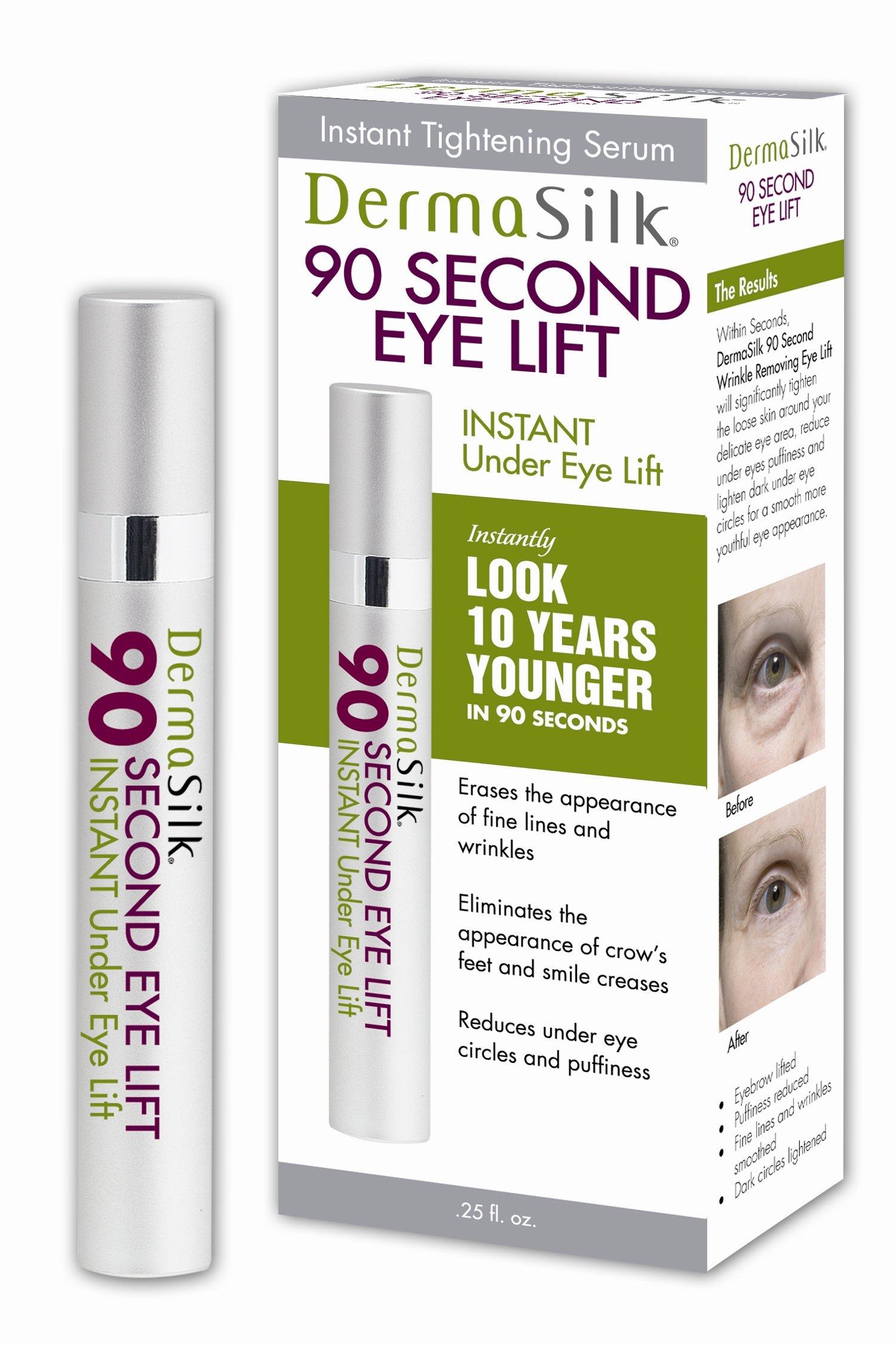 Dermasilk 90 Second Eye Lift, 0.25-Fluid Ounce