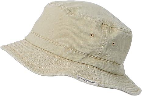 f49503e3776 Amazon.com  Field   Stream Men s Basic Bucket Hat (Khaki