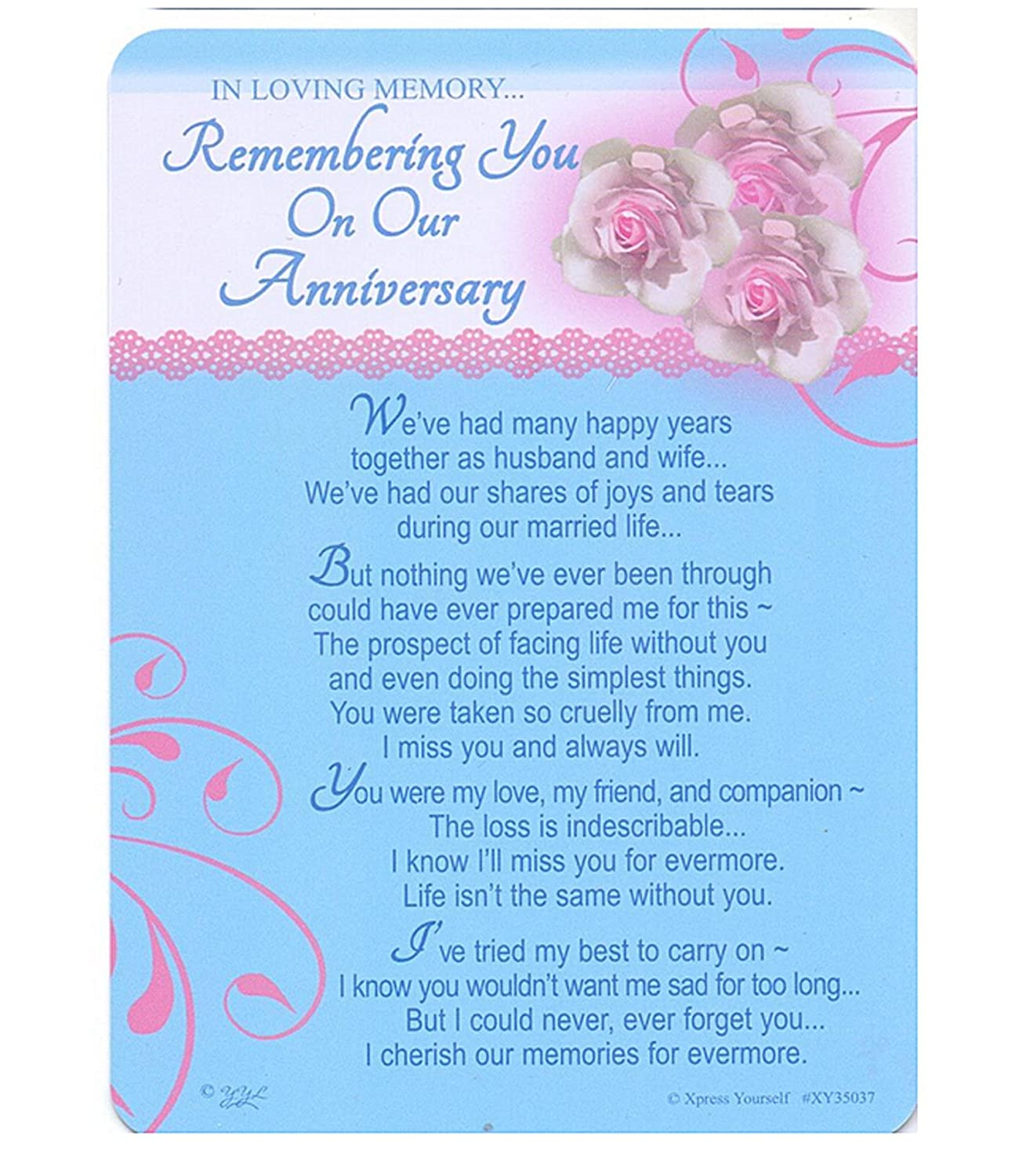 In Loving Memory Missing You Your Birthday Grave Graveside
