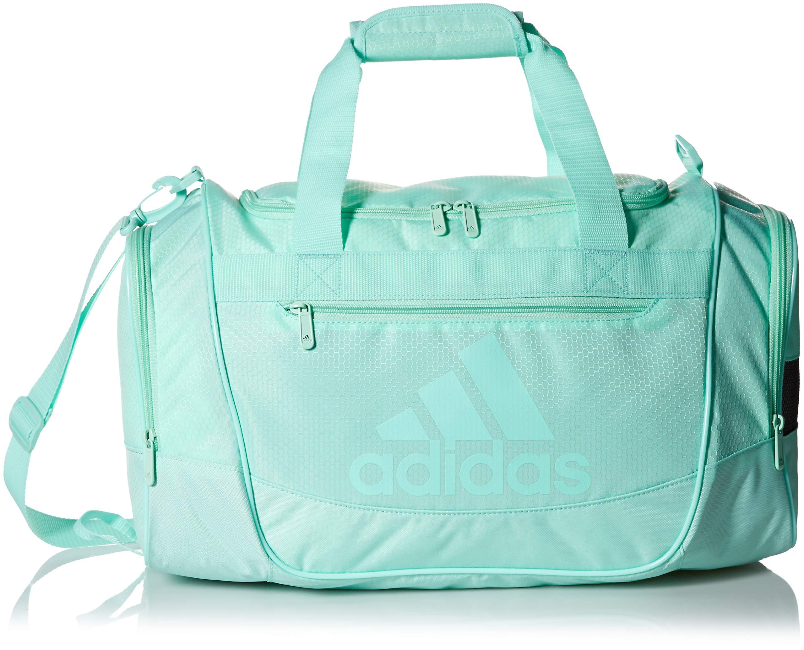 adidas Defender III Duffel Bag, Clear Mint, One Size