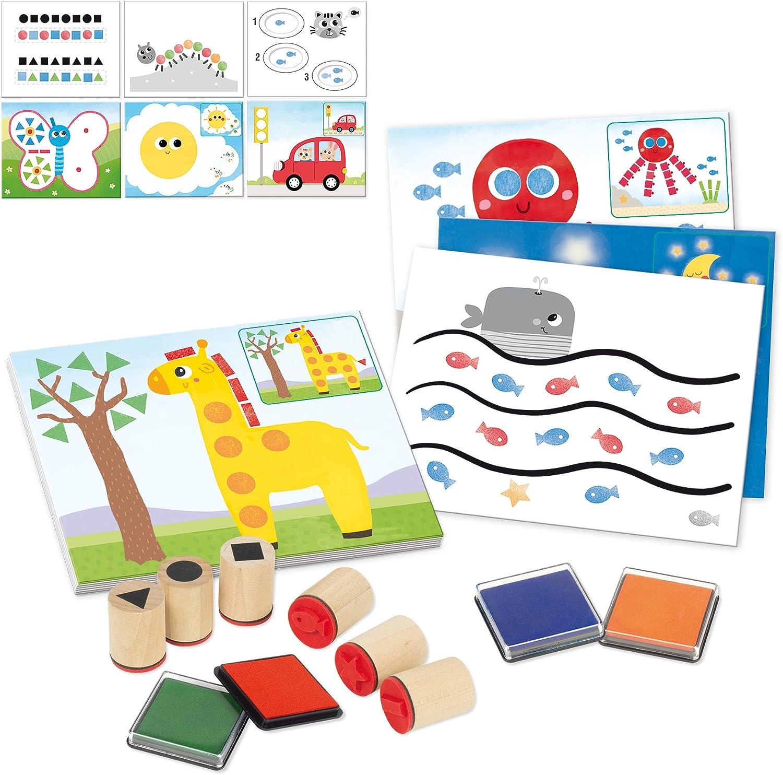 Colección hora para niños Gráfico 45 2 Hojas papeles enero de montaje 12 X 12