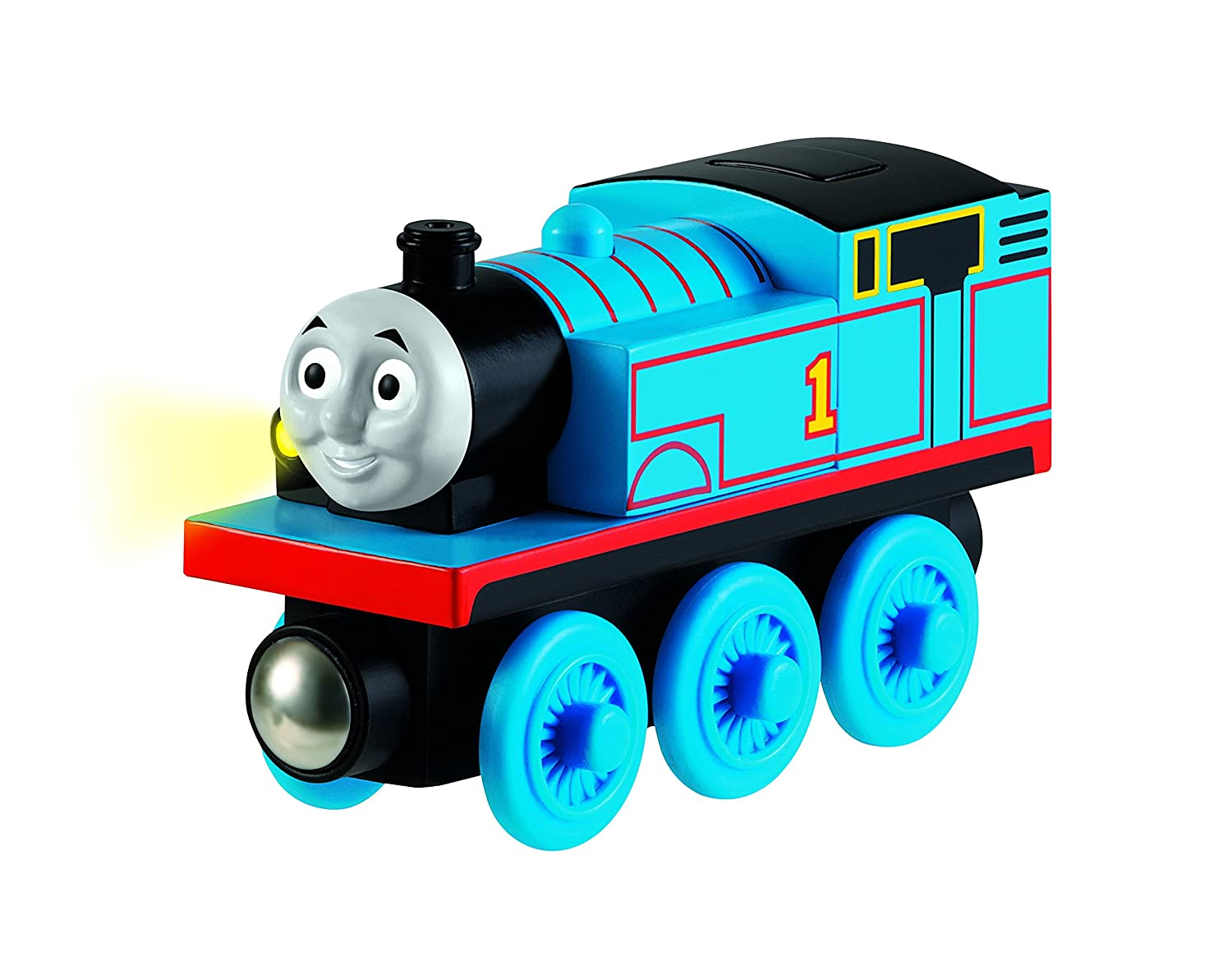 Train car side view login to view prices realised - Amazon Com Fisher Price Thomas Friends Wooden Railway Train Thomas Battery Operated Train Toys Games