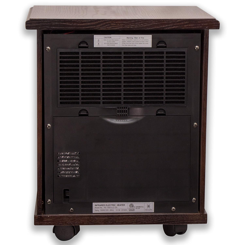 Amazon.com: Heat Storm HS-1500-ILOD Logan Deluxe Infrared Space ...