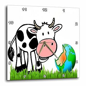 Amazoncom 3drose Cartoon Animal Humor Image Of Cartoon Of A Cow
