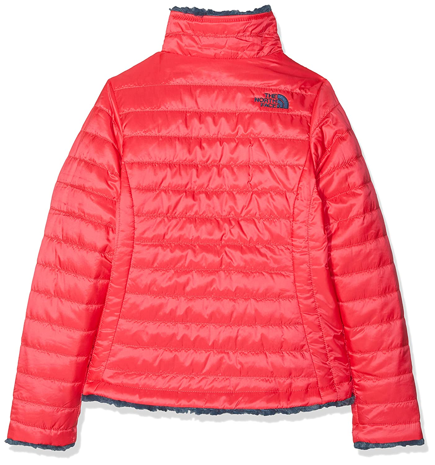 545b0203b79a Amazon.com  The North Face Girl s Reversible Mossbud Swirl Jacket ...