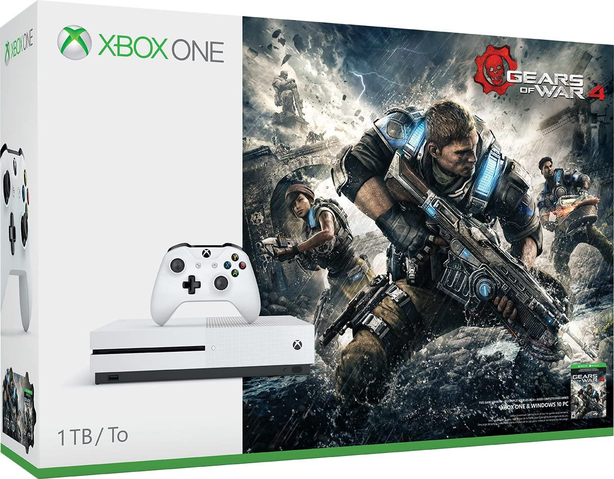 Amazon xbox one s 1tb console gears of war 4 bundle amazon xbox one s 1tb console gears of war 4 bundle discontinued video games sciox Choice Image
