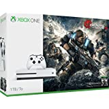 Microsoft Xbox One S Gears of War 4 1TB Console Bundle with full game download of Gears of War 4 standard edition (6 Items)