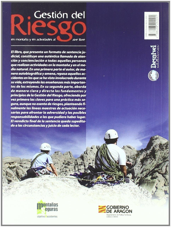 Gestión del riesgo en montaña y en actividades al aire libre ...
