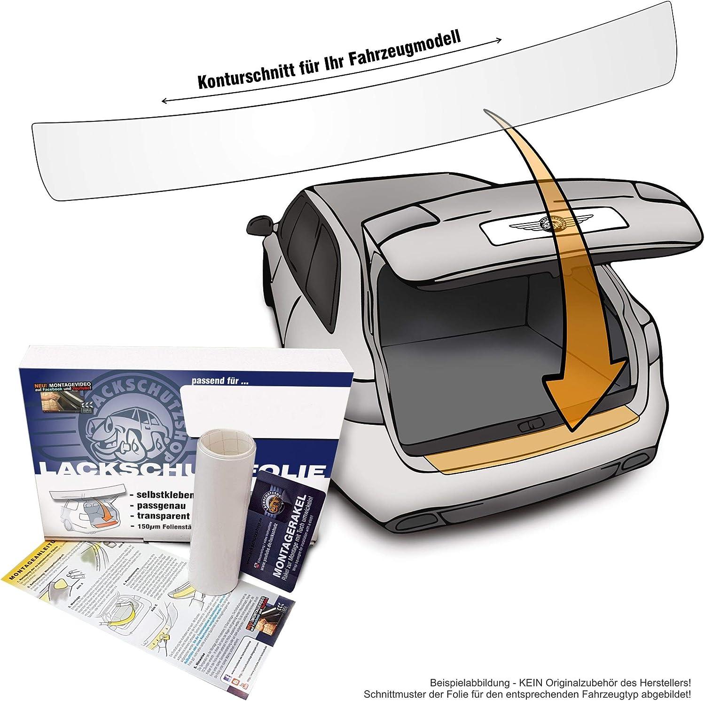 Skoda Octavia 3 Kombi 5E Ladekantenschutz Folie Lackschutzfolie Auto Schutzfolie