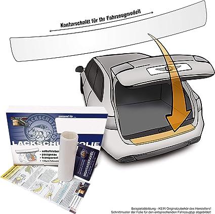 Carbon - Passform Ladekantenschutz-Folie Lackschutzfolie - selbstklebend 130x15cm in.tec