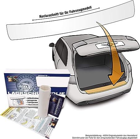 Lackschutzshop Passform Lackschutzfolie Als Ladekantenschutz Passgenau Transparent 150µm Auto