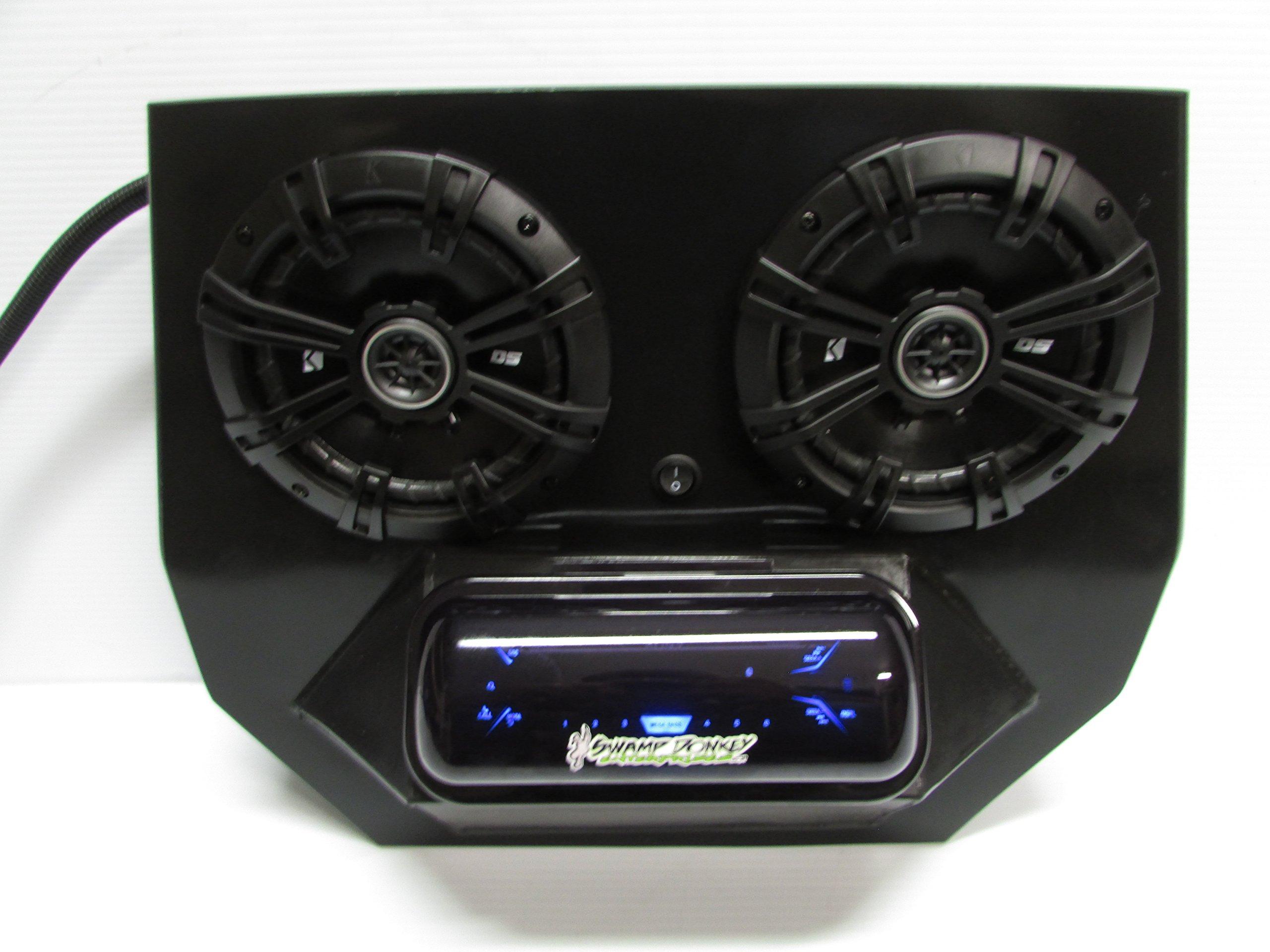 SD 2BBT2B -Polaris RZR Stereo System Bluetooth UTV Side by Side (2-6.5'' marine speakers)