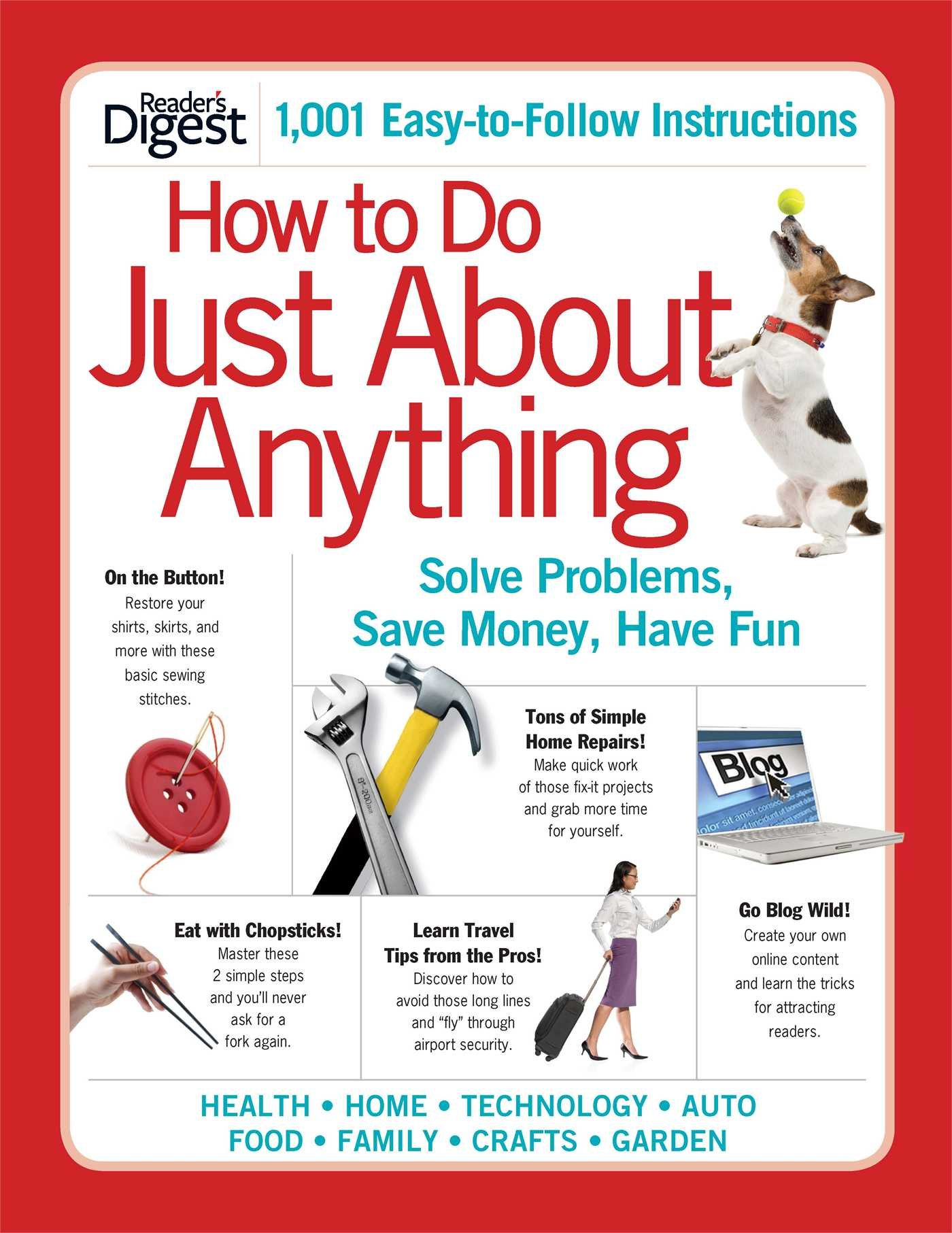 Download How to Do Just About Anything: Solve Problems, Save Money, Have Fun pdf epub