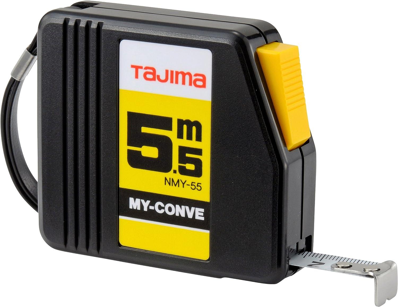 Noir Tajima NMY50MY My Conve M/ètre /à ruban 5 m//13 mm