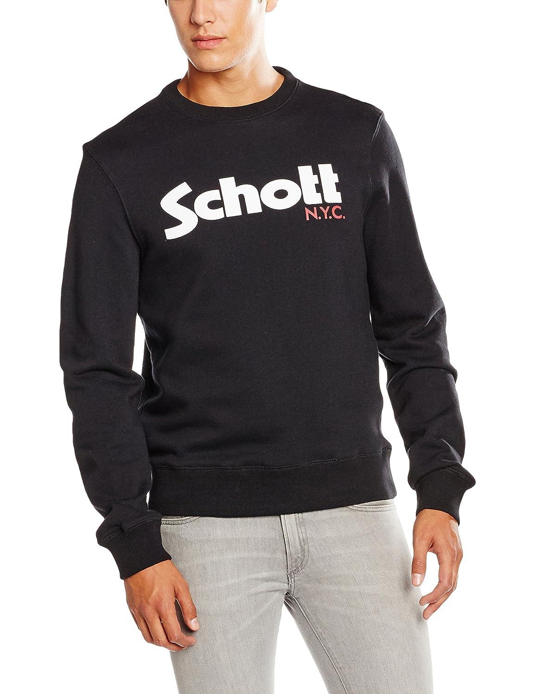 Schott NYC Mens Swcrew Sweatshirt