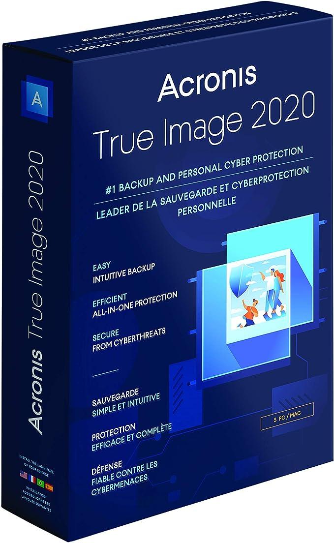 Amazon Com Acronis True Image 2020 5 Computer Software