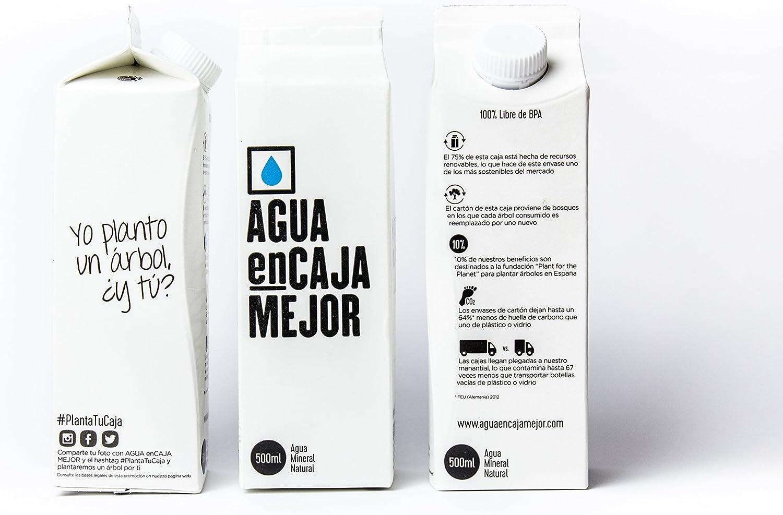 Agua Mineral Natural 500ml (Caja de 24 unidades): Amazon.es ...