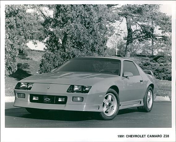 amazon com vintage photograph of 1991 chevrolet camaro z28 entertainment collectibles amazon com