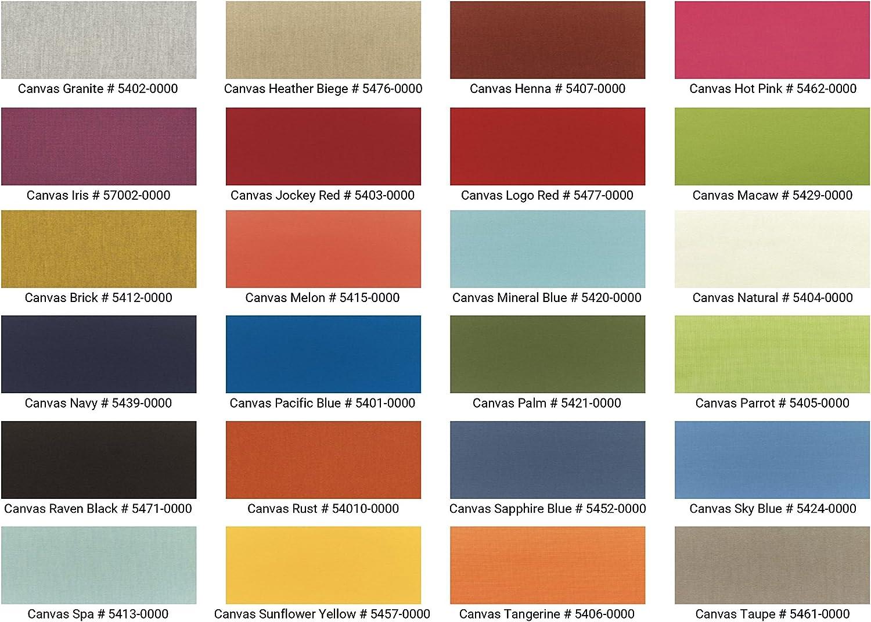 TeakStation Sunbrella Fabric Cushions for 5 Feet Bench Model TR1 Bench Cushions Sold Separately – Choose Below TSBHTR5CS