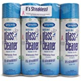 Sprayway 443331 Ammonia Free Glass Cleaner, 19 Oz. (4-Pack) (Packaging May Vary)