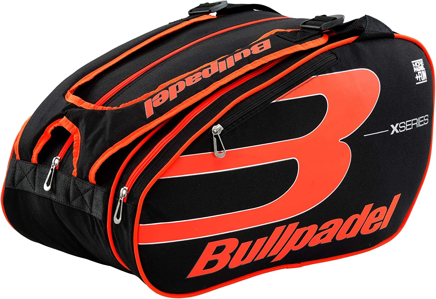 Paletero Bullpadel Fun X-Series Orange: Amazon.es: Deportes y aire ...