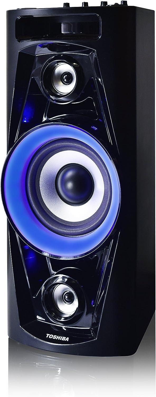 Amazon.com: Toshiba - Altavoz inalámbrico recargable con ...