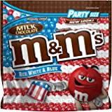M&M'S Red, White & Blue Milk Chocolate Candy Party Size 42-Ounce Bag