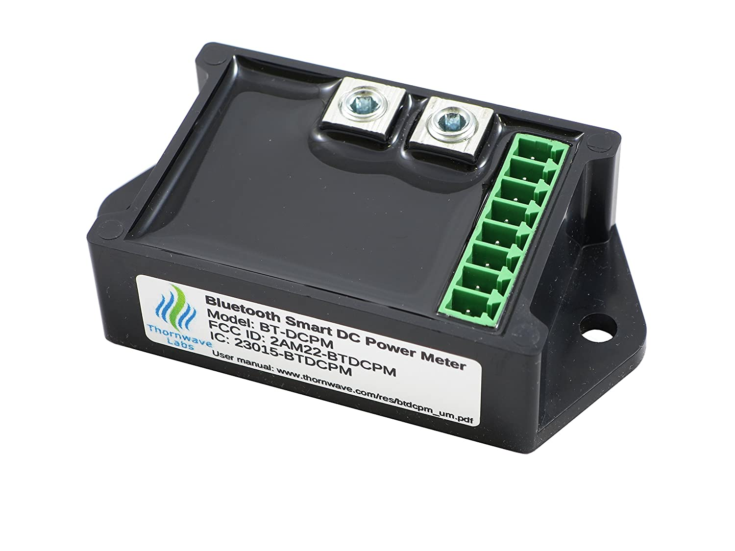 Bluetooth Battery Monitor, DC Power Meter Thornwave Labs Inc
