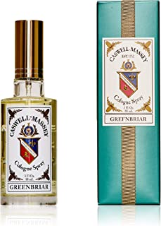 product image for Caswell-Massey Greenbriar Cologne Spray – Natural Blend of Sage, Patchouli, Mandarin and Vetiver – 3 Ounces