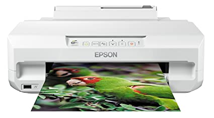 Epson Expression Photo XP-55 - Impresora fotográfica (impresión Directa Desde CD o DVD), Color Blanco, Ya Disponible en Amazon Dash Replenishment
