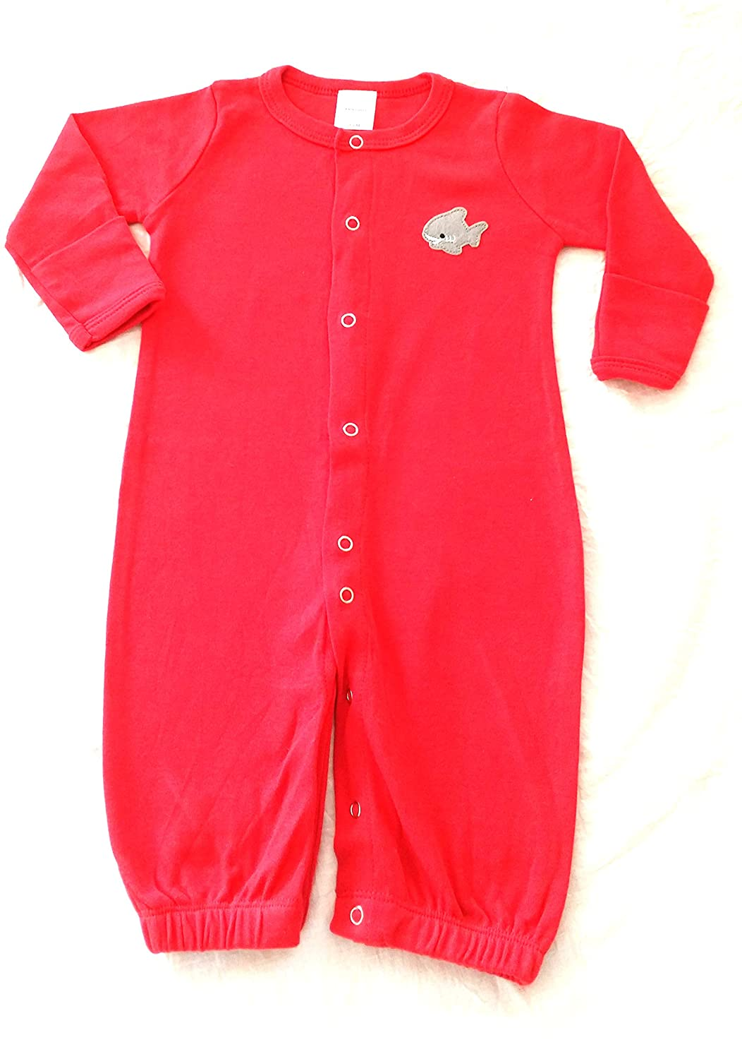 Snug Bub Convertible Night Gown to Footed Pajamas