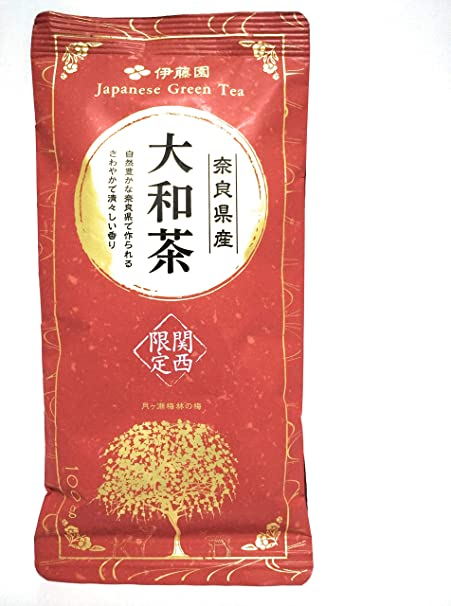 奈良県産 大和茶 〜月ヶ瀬梅林の梅〜