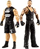WWE – Tough Talkers – Brock Lesnar & Undertaker – 2 Figurines Articulées Parlant Anglais