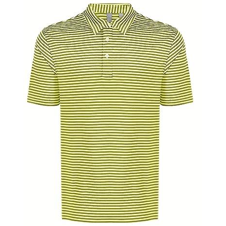 Ashworth Golf Polo de Rayas de Manga Corta para Hombre T Shirt ...