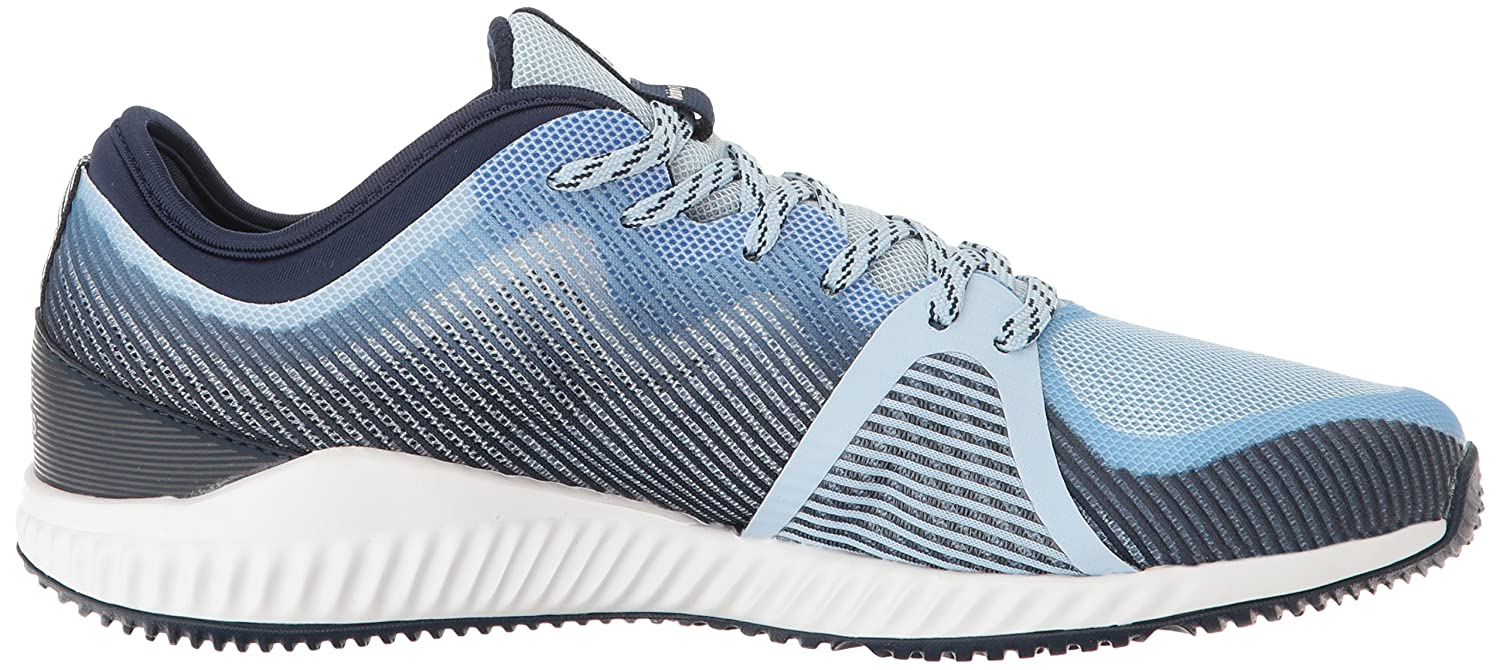 adidas Women's Crazytrain Bounce Cross-Trainer Shoes B01LXS4RTM 10 M US|Easy Blue/Metallic Silver/Tech Blue