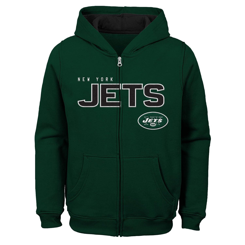 Outerstuff Boys Big NFL Kids /& Youth Stated Full Zip Fleece Hoodie