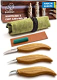 BeaverCraft S15 Whittling Wood Carving Kit - Wood Carving Tools Set - Chip Carving Knife Kit - Whittling Knife Set…