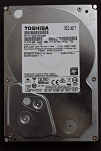 Toshiba DT01ACA200 2TB 7200 RPM 3.5'' SATA (Silver)