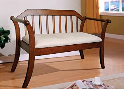 Prime Williams Home Furnishing Cm Bn6681 Derby Seating Bench Oak Gmtry Best Dining Table And Chair Ideas Images Gmtryco