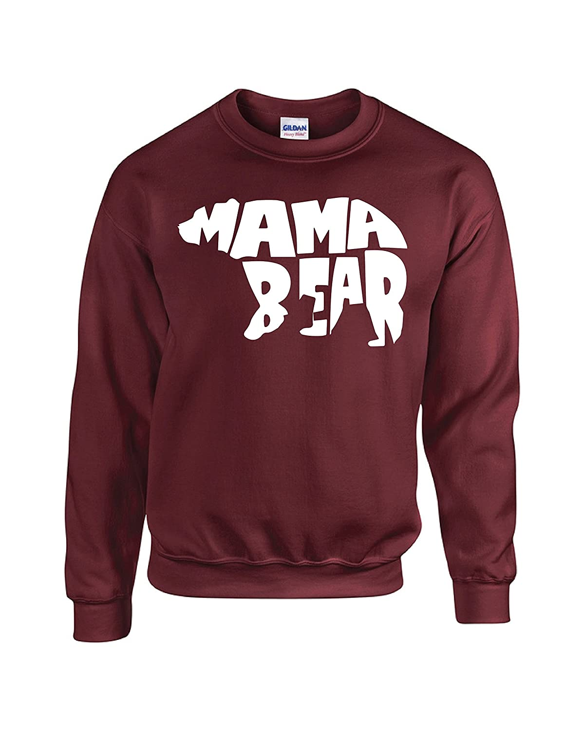 Mama Bear Couples Crewneck Sweater by Outlook Designs MAMABEARSWEATER1